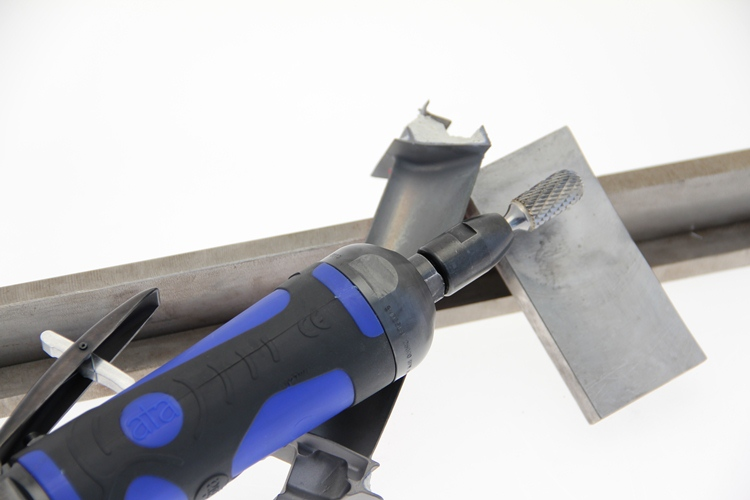 Hand Grinders For Metal ~ Ata launches new anti vibration straight grinder